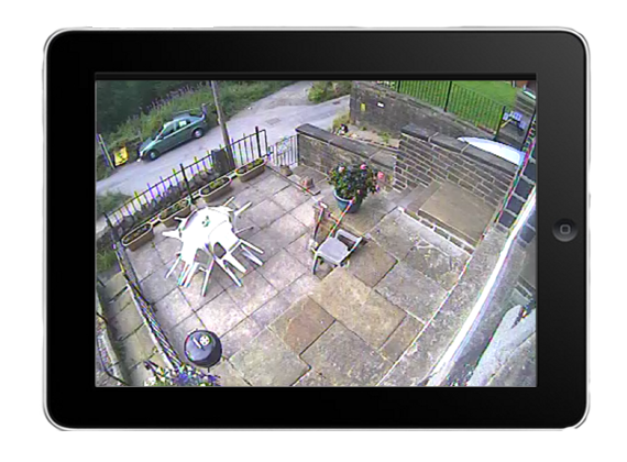 ipad remote cctv viewing