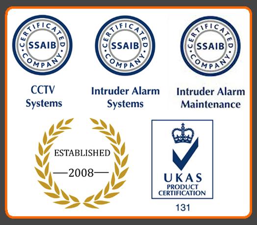 burglar alarm approved installer