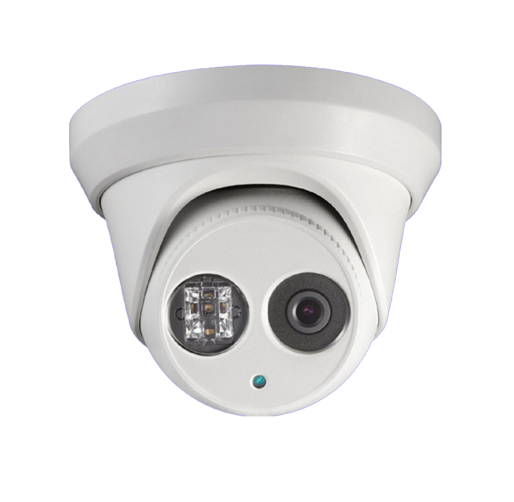 A 4K CCTV Turret Camera