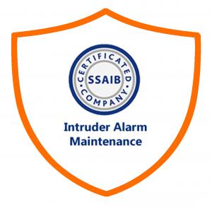 intruder alarm maintenance approved